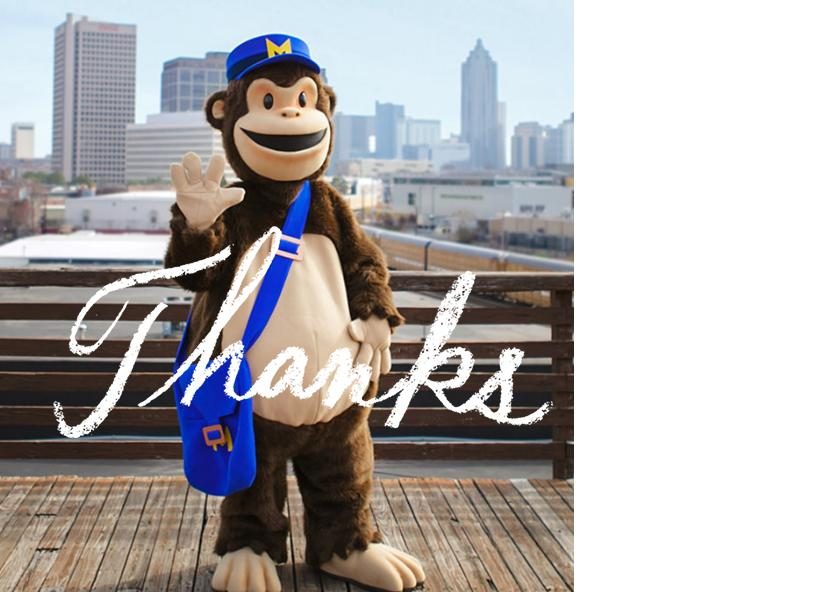 Mailchimp Thank you